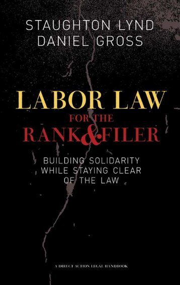 Labor Law for the Rank & Filer - Libcom