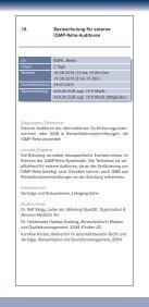 SEMINARE - IQMG Institut für Qualitätsmanagement im ... - Seite 2