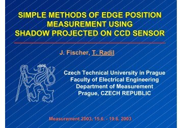 simple methods of edge position measurement using shadow ...