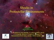 Shocks in Protostellar Environments
