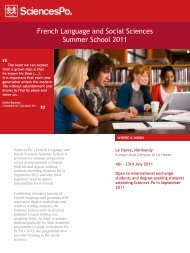 brochure for more information and registration - Sciences-Po ...
