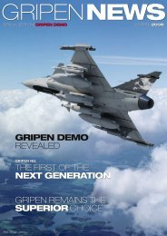 Gripen Demo REVEALED ThE FiRST OF ThE next ... - Saab