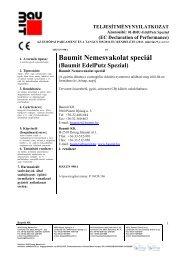 Nemesvakolat speciál - TNyLokok - Baumit