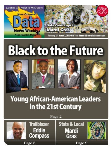 Young African-American Leaders in the 21st Century