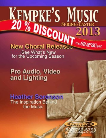 Download 2013 Choral - Kempke's Music Service