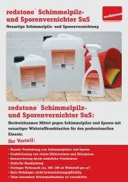 redstone® Schimmelpilz- und Sporenvernichter SuS: redstone ...