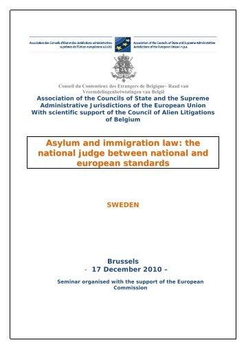 Sweden - Association des Conseils d'Etat et juridictions ...