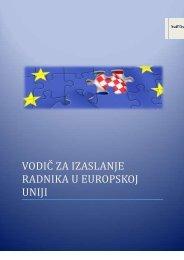 Vodič za izaslanje radnika u Europskoj uniji - Hrvatski zavod za ...