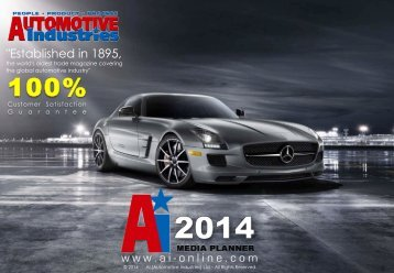Media Pack - Automotive Industries
