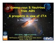 Gamma-rays & Neutrinos from AGN & prospects in view of CTA