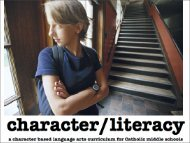 character/literacy - Webpages at SCU