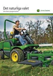 Broschyr för professionella grönytemaskiner - John Deere