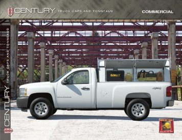 click here to open the century contractor truck cap brochure
