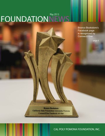 MAY PDF Issue - Cal Poly Pomona Foundation