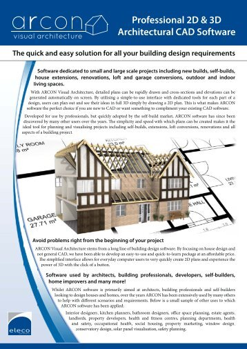Professional 2D & 3D Architectural CAD Software - Build It
