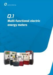 Multi-functional electric energy meters - Circutor