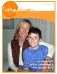 March 2010: Nicholas Brady is a Healer - Energy Magazine