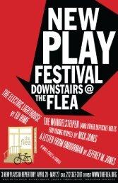 Nick Jones program.indd - The Flea Theater