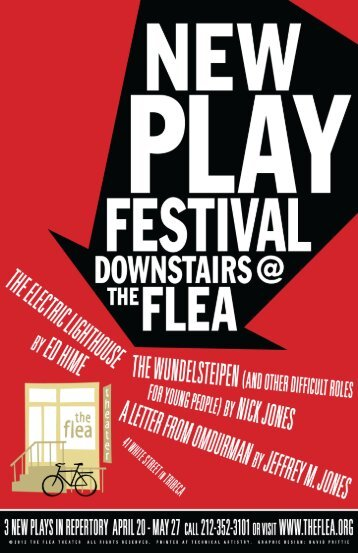 Nick Jones program.indd - The Flea Theater