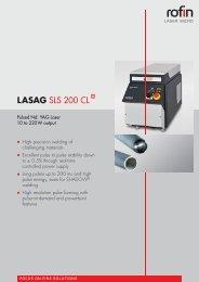 LASAG SLS 200 CL - Rofin