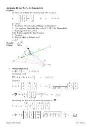 Lösung Aufg 10 Abstand Punkt Gerade