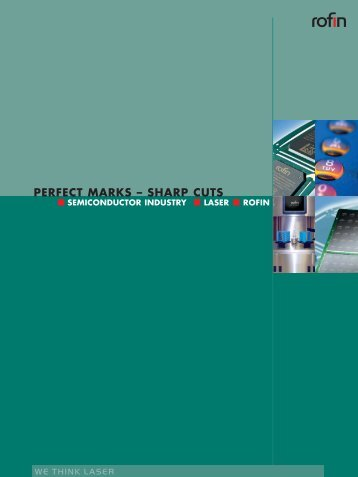 PERFECT MARKS – SHARP CUTS - Rofin