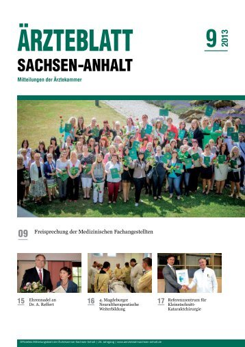 PDF-Download [4,7 MB] - Ärzteblatt Sachsen-Anhalt