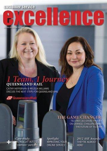 1 Team, 1 Journey - Customer Service Institute of Australia