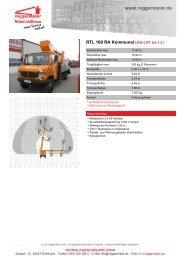 RTL 180 RA KommunalLKW-LIFT bis 7,5 t - Roggermaier