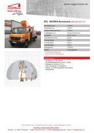 RTL 180 RKA KommunalLKW-LIFT bis 7,5 t - Roggermaier
