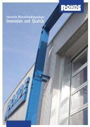 Innovation und Qualität - Rohde Schutzgasöfen GmbH