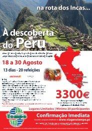 perú - na rota dos incas - Lopes Viagens