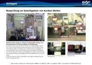 Rissprüfung an Gelenkgabeln von Kardan  ... - Rohmann GmbH