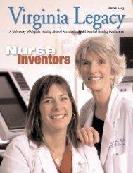 Legacy 2003 Spring - School of Nursing - University of Virginia