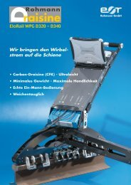 Carbon-Draisine (CFK) - Ultraleicht • Minimales ... - Rohmann GmbH