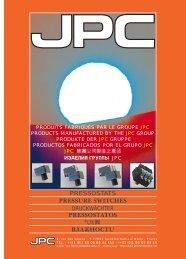 PDF Version (0.9MB) - JPC, electromechanical control manufacturer