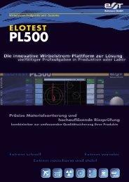 ELOTEST PL500 Präzise Materialsortierung und ... - Rohmann GmbH