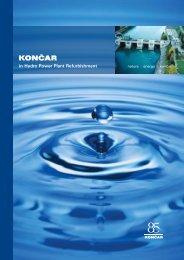 in Hydro Power Plant Refurbishment - KONČAR - Electrical Industry ...