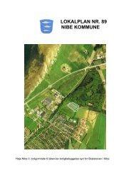 LOKALPLAN NR. 89 NIBE KOMMUNE - Aalborg Kommune