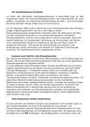 Systeme nach Maß für viele - Swisslog