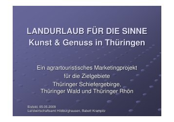 Projektpräsentation (705 kB) - RAG Wartburgregion