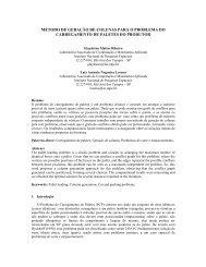 método de geração de colunas para o problema do ... - ResearchGate