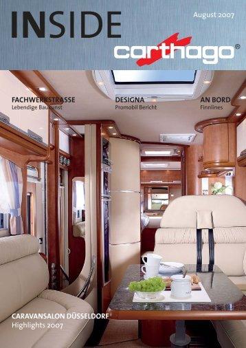 IN SIDE August 2007 - Carthago Reisemobilbau GmbH