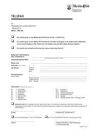 Faxformular iMedia 2012