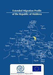 the Extended Migration Profile (EMP) - IOM Moldova