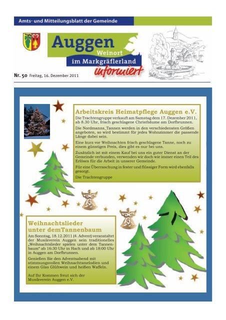 Weihnachtslieder Bäckerei.Seite 6 Freitag 16 Deze