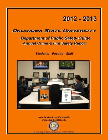 Public Safety Guide 2012-2013 - Oklahoma State University - Police ...