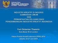 Industri Kreatif di Inggris: Gambaran Umum dan ... - Indonesia Kreatif