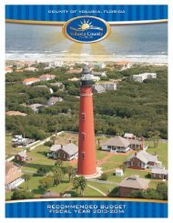 2013-2014 Recommended Budget - Volusia County Government