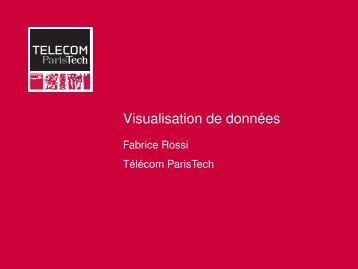 Visualisation de données - Fabrice Rossi